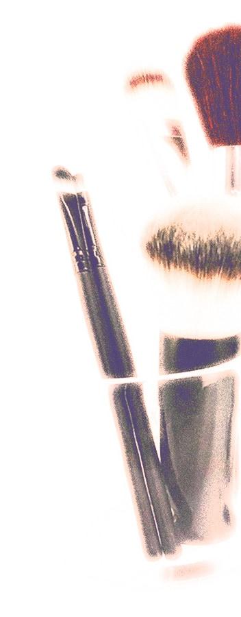 Makeup stand organiser